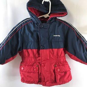 London Fog jacket Boys size 18 months hood puffer
